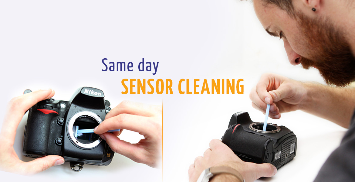 Same day sensor cleaning